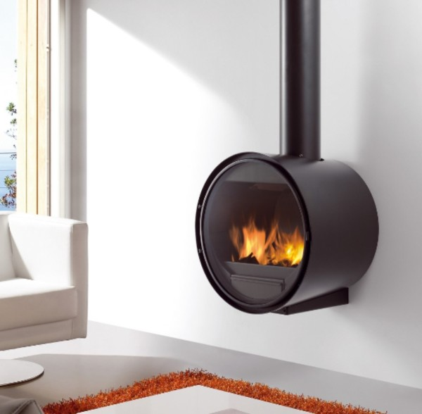 Rocal D7 15Kw Wall Mounted Wood Burner