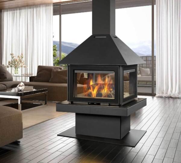 Rocal Giscelle 90 21Kw Wood Burner