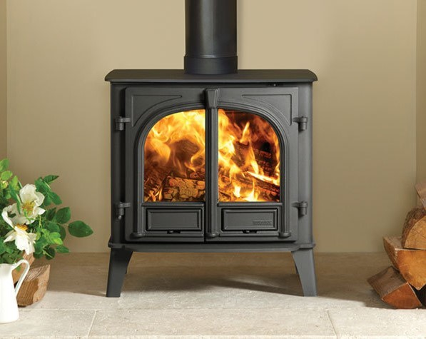 Stockton 8 Slimline 7Kw Multi Fuel