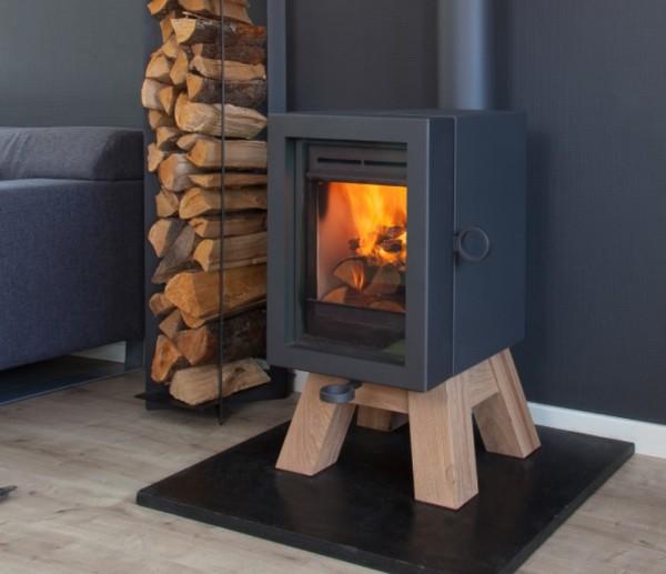 Wanders Oak 6Kw Wood Burner