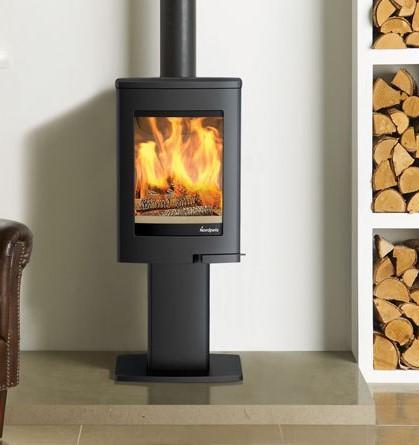 Nordpeis Uno 1 4Kw Wood Burner