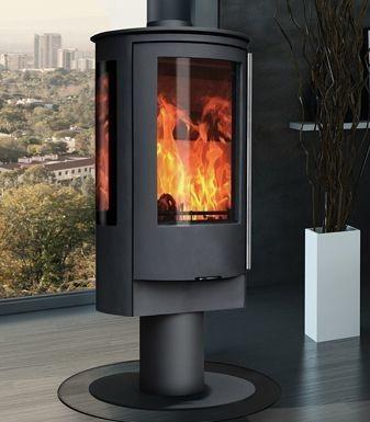 Capital Fireplaces Contour Pedestal 4.9Kw Multi Fuel