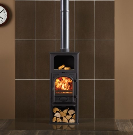 Stovax Stockton 6 Highline 6Kw Multi Fuel