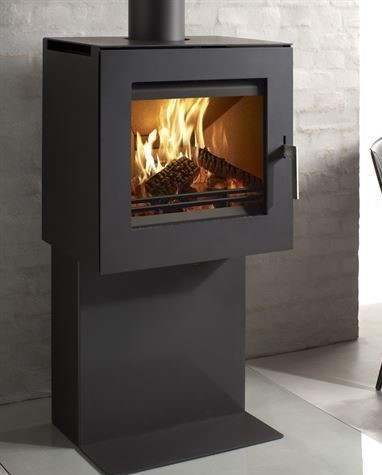 Westfire Uniq 23 Pedestal 1 6.1Kw Wood Burner