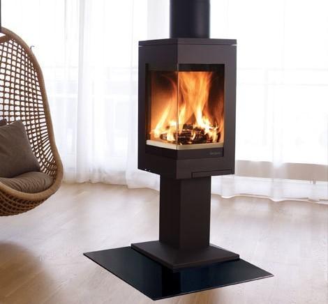 Nordpeis Quadro 1 6.2Kw Wood Burner