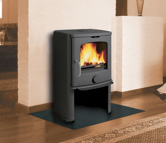 Scan Anderson 4-5 Convector 6Kw Wood Burner