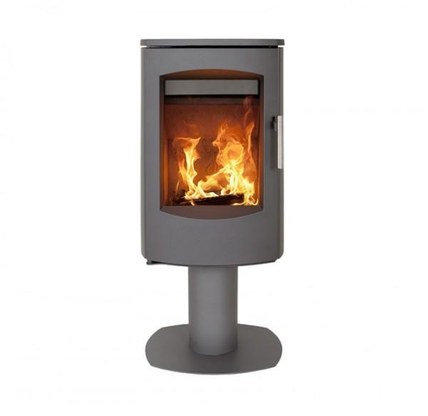 Scanline 7D Pedestal 4.5Kw Wood Burner