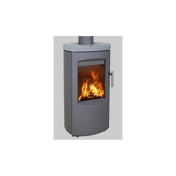 Scanline 7B Soapstone Top 4.5Kw Wood Burner