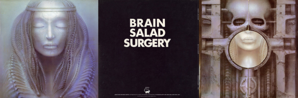 ELP - Brain Salad Surgery (3 panel)