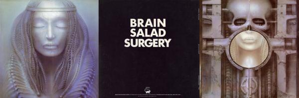 ELP - Brain Salad Surgery (3 panel)