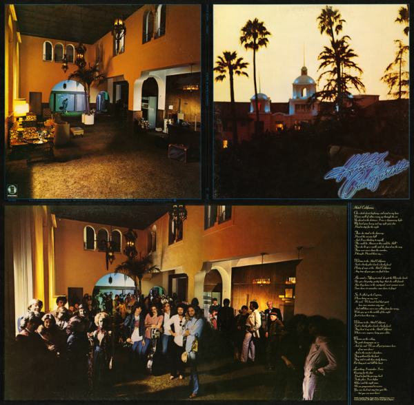 Eagles - Hotel California Quad