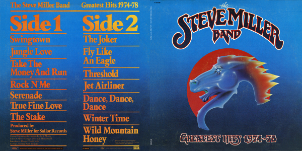 Steve Miller - Greatest Hits