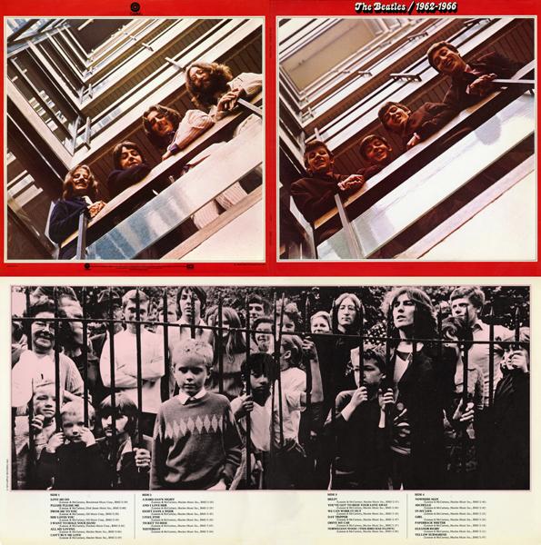 Beatles Red Quad