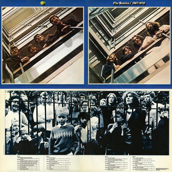 Beatles Blue Quad