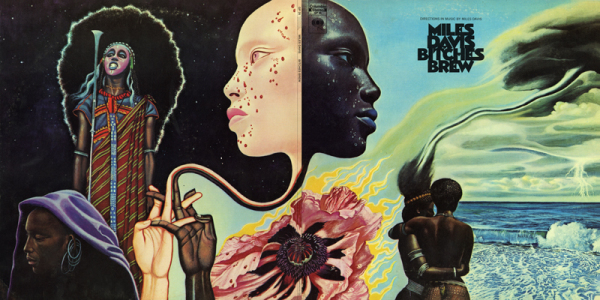 Miles Davis (Mati Klarwein)