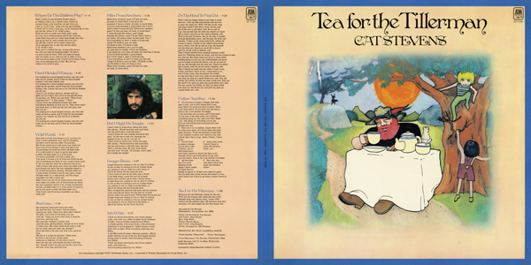 Cat Stevens (Full Cover Print)