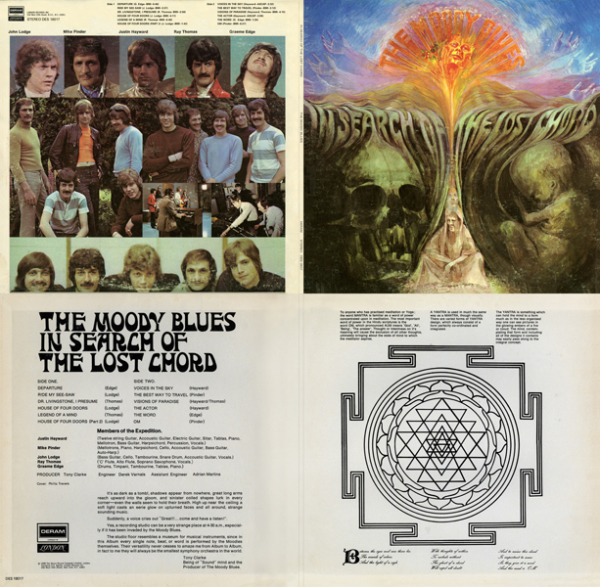 Moody Blues - In Search Of The Lost Chord Quad