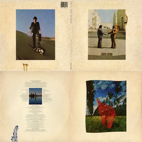 Pink Floyd - Wish You Were Here Quad