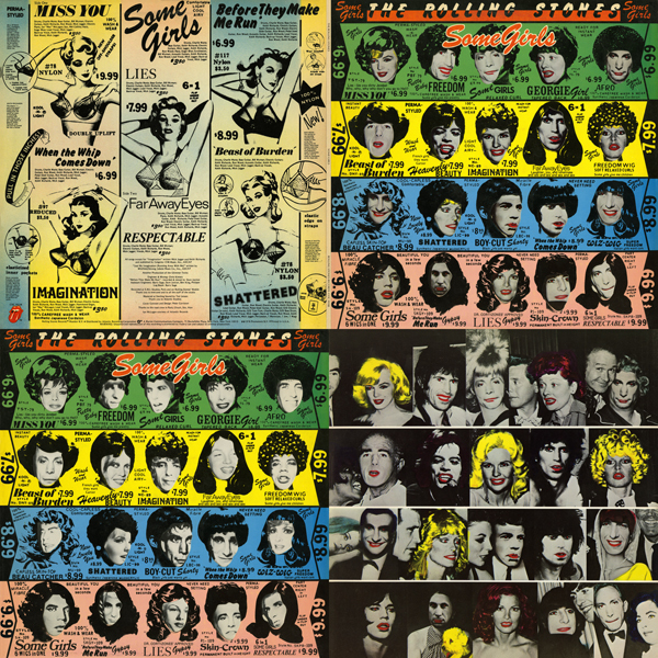 Rolling Stones - Some Girls Quad