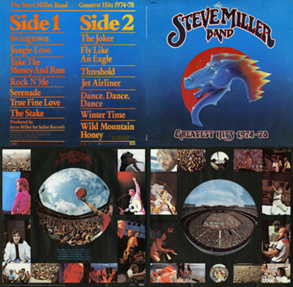 Steve Miller Band - Greatest Hits Quad