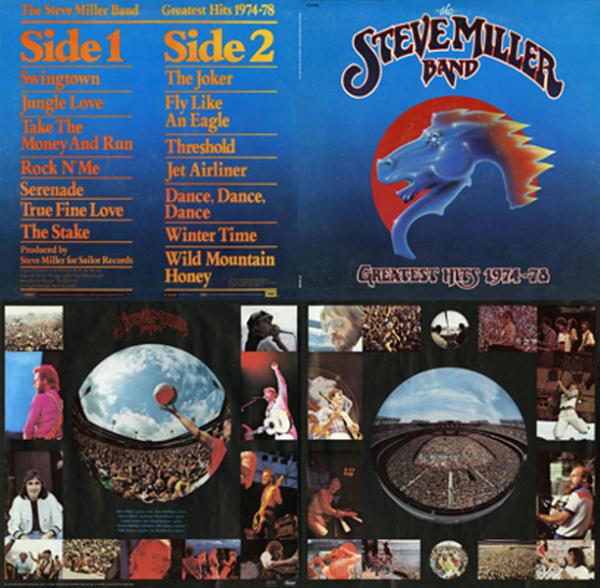 Steve Miller Band - Greatest Hits Quad