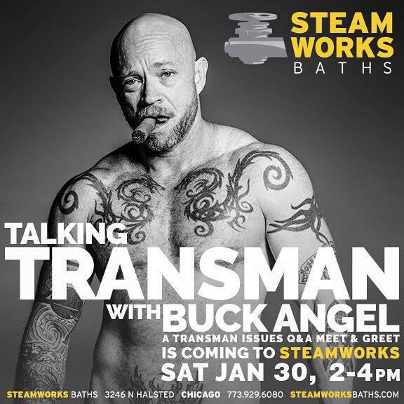 ManCave After Dark - Adults Only Activities: Talking Transman with Buck Angel