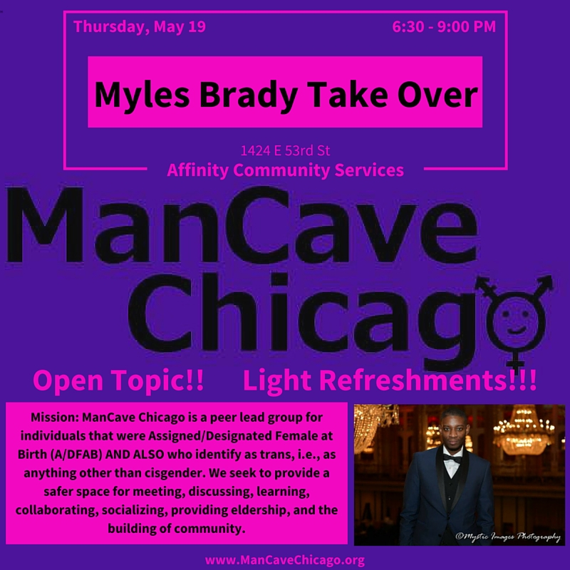 ManCave Chicago - Myles Brady Take Over