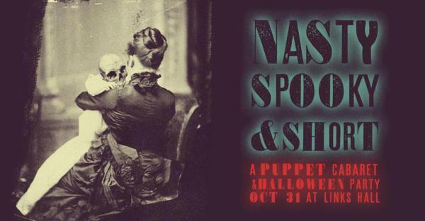 ManCave After Dark - Nasty, Spooky & Short: A Puppet Cabaret