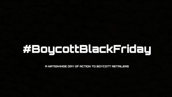 MCC Protests at Black Friday Economic Shutdown