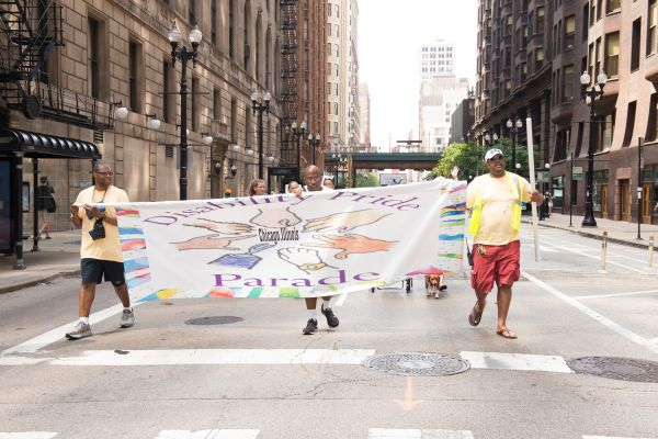 CommunityCave Marches with the Disability Pride Parade