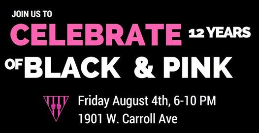 CommunityCave Celebrates with Black & Pink