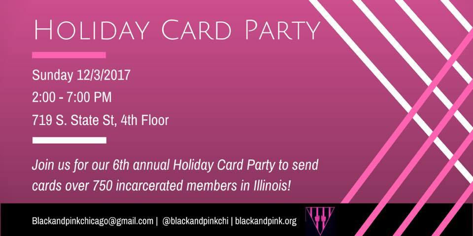 CC Attends the 6th Annual Black & Pink Holiday Card Party!