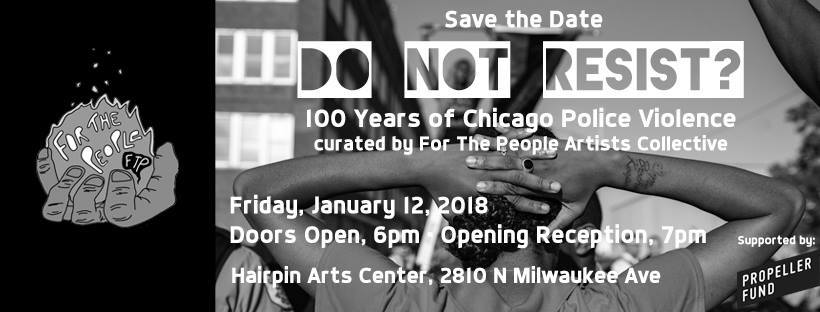 CCC Attends: Do Not Resist? Opening Reception