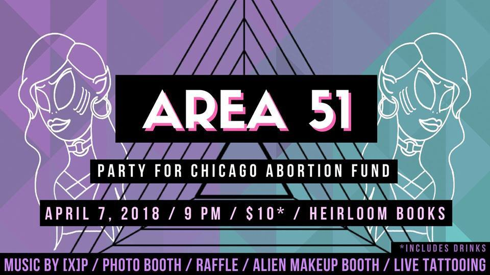 CCC Attends - AREA 51: Fundraiser for CAF