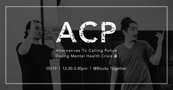 CCC Attends - Alternatives to Calling Police During Mental Health Crises