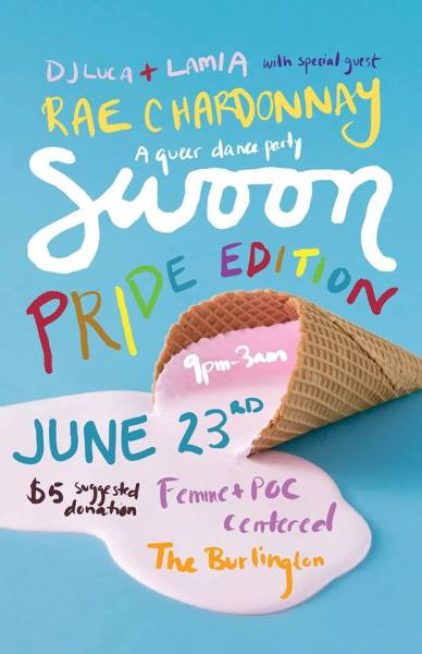 CCC Attends - Swoon: Pride Edition (with DJ Rae Chardonnay)