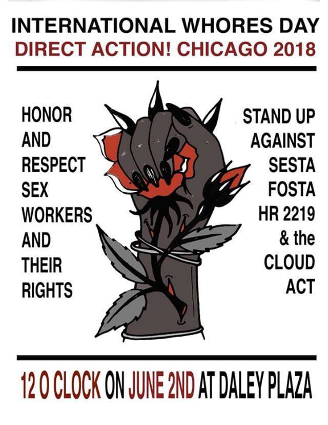 CommunityCave Joins: International Whores Day Direct Action! Chicago