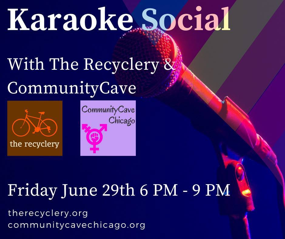 CommunityCave & The Recyclery's Karaoke Social