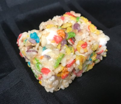 Fruity Pebble Treat ($15 Dozen)