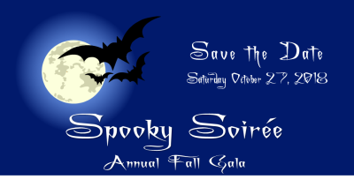 October 27 --Annual Fall Gala