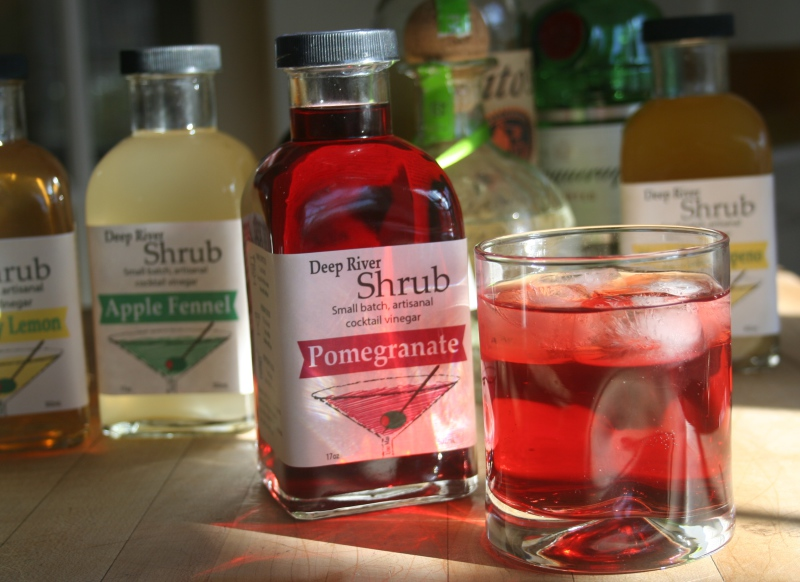 Shrub Vinegar Cocktail