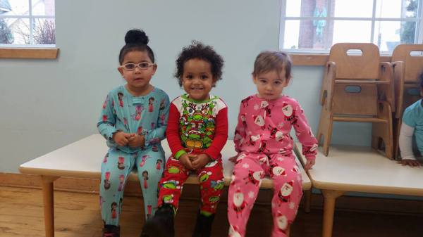 Pajama Day, Christmas 2015