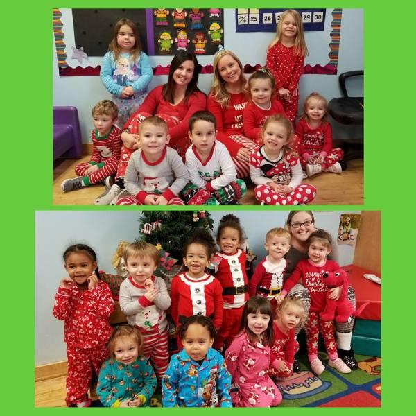 Christmas Pajama Day 2017