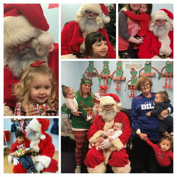 Visit from Santa 2017