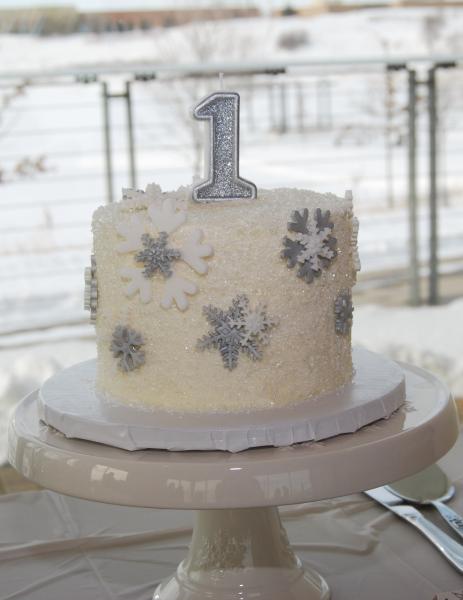 Winter Onederland, First Birthday, Cakes