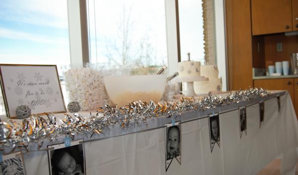 Winter Onederland, First Birthday, One
