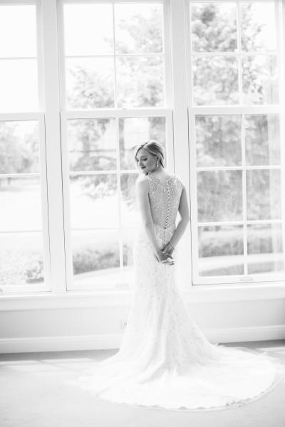 Bridal Portrait; Bride; Wedding Day; Country Club Wedding