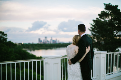 Skyline; Country Club Wedding; Mr & Mrs.