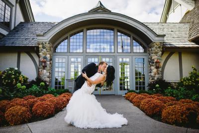 Real Wedding - Golf Clubhouse Wedding