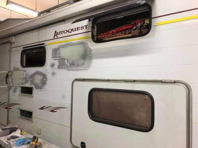 MOTORHOME INSURANCE BODYWORK REPAIR